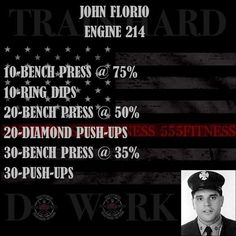 555 Fitness is a Firefighter owned and operated Charity. Our goal is to reduce the leading killer of firefighters cardiac related disease. We do this by providing free workouts nutritional advice and fitness equipment to firefighters in need. This is made possible through our partners private donations and the sale of our lifestyle apparel brand. You can learn more by visiting www.555fitness.com Train Hard Do Work! #555fitness #firedontcare #fire #fitness #firefighter #wod #workout #ems…