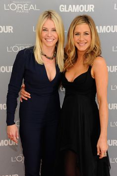 Pin for Later: Birthday Girl Jennifer Aniston's Got More Famous Friends Than We Can Count  Jen was on hand to present her longtime friend Chelsea Handler with a Glamour woman of the year award at the November 2011 ceremony in NYC.