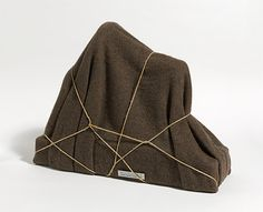 Man Ray, The Enigma of Isidore Ducasse, (sewing maching, blanket and twine). Man Ray, Land Art, Art Assignments, National Gallery, Enigma, Textiles, Art Object, Totems, Installation Art