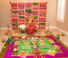 ideas for indian bridal shower photography Backdrop Decorations, Baby Shower Decorations, Flower Decorations, Parties Decorations, Wedding Decorations, Desi Wedding Decor, Wedding Ideas, Festival Decorations, Trendy Wedding