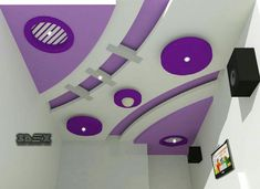 Latest POP false ceiling design for living room POP design for roof for hall 2018 Full 2018 catalogue for POP false ceiling designs for living rooms, POP roof design ideas for hall, POP design for living room ceiling Gypsum Ceiling Design, House Ceiling Design, Ceiling Design Living Room, Bedroom False Ceiling Design, False Ceiling Living Room, House Design, Kids Interior, Luxury Interior Design, Pop Design For Roof