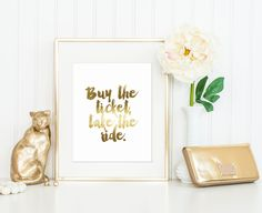 Buy the Ticket, Take the Ride Print