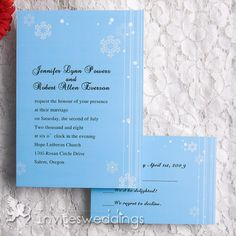 Wedding Invitations Online Ice and Snow Wedding Invitation - Wedding Planning Tips, Wedding Tips, Wedding Events, Wedding Stuff, Wedding Invitations Online, Winter Wedding Invitations, Invites, Snow Wedding, Dream Wedding