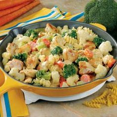 Chicken Pasta Primavera - I have been making this for almost 20 years, easy and delicious! 5 STARS - MOM3BOYS