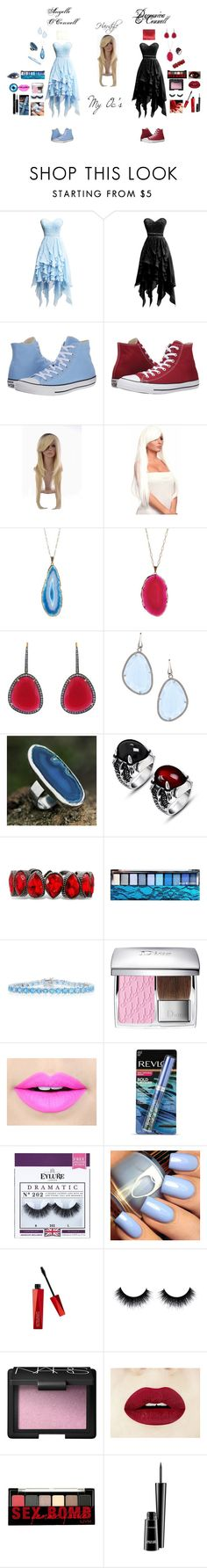 """""""My Oc's"""" by hoodie-326 on Polyvore featuring Converse, BRIT*, Valerie Nahmani Designs, Christina Debs, Elliott Chandler, NOVICA, Andante, Hard Candy, Belk & Co. and Christian Dior"""