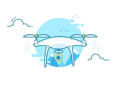 DJI PHANTOM Drone by kawen #Design Popular #Dribbble #shots