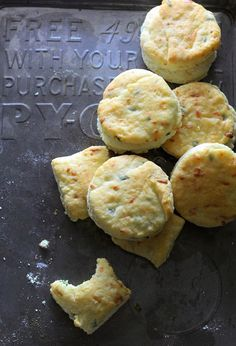 Smoked Gouda and Chive Buttermilk Biscuits - would be great alongside soup or stew.
