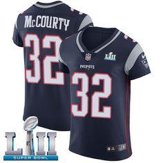 Nike Patriots  32 Devin McCourty Navy Blue Team Color Super Bowl LII Men s  Stitched NFL. Patriots 87Jersey PatriotsNew England ... 91ef60a9f