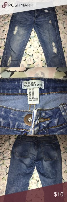 Denim Jeans Perfect condition jeans! Forever 21 Jeans Skinny