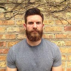 brown brick beard