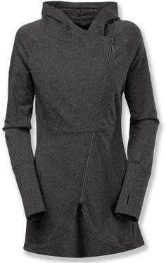 Dark Gray North Face Side Wrap Hoodie. Kinda liking this. It's different