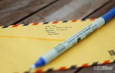How to Write an Address on an Envelope (with Examples) - wikiHow