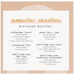 Essential Oils Guide, Natural Essential Oils, Young Living Essential Oils, Essential Oil Combinations, Diffuser Recipes, Essential Oil Candles, Essential Oil Diffuser Blends, Aromatherapy Oils, Day Use