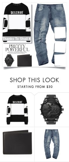 """""""Fall style 40"""" by emiiillly ❤ liked on Polyvore featuring Diesel, The Men's Store, Post-It, modern, men's fashion, menswear, Winter, perfect and boys"""