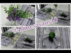 Mesa Posta tons lilás #40mesasaos40 - YouTube