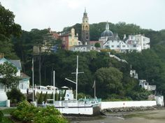 Portmerion, Wales - so glad I got to visit here with Mom.  A quaint and wonderful place!