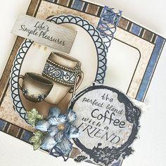 Coffee Talk card by Alicia Barry