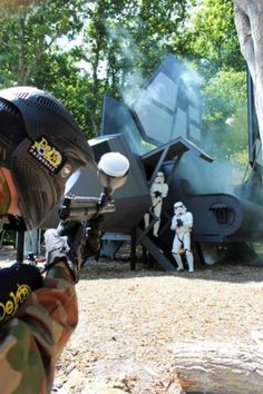I want to go there!!!! #paintball