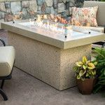<strong>Key Largo Crystal Fire Pit Table with Base</strong> by The Outdoor GreatRoom Company