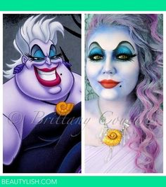 Great Ursula Makeup and hair!