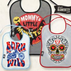 The best bibs for your little one! #blamebetty #babies #alternative