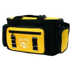 CALCUTTA 10-370-4 TACKLE BAG This durable tackle bag offers tons of storage space. It is constructed of poly material and comes with 4 utility boxes.