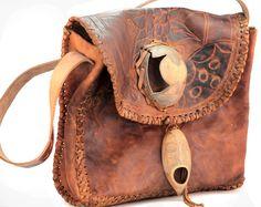 Fancie handmade leather bag