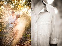 Summertime Engagement Portraits via OnceWed. (Photography by Nancy Neil) #summertime #engagementshoot