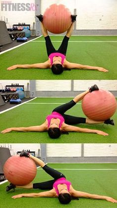 Stability ball is extremely effective in workouts. Here we've collected the best 7 exercises you can do with a stability ball to train every part of your body.