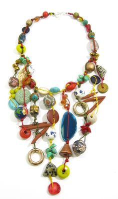Bohemian Inspired Statement Necklace.