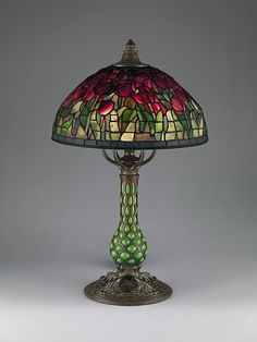 omgthatartifact:    Tulip Lamp  Louis Comfort Tiffany, 1907-1912  The Metropolitan Museum of Art