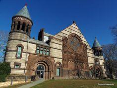 PRINCETON Y FILADELFIA. TURISCURIOSA EN USA. Campus de la Universidad de Princeton