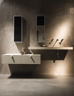 Minosa Design: Scoop®ED washbasin by Minosa™ luxury modern bathroom vanity