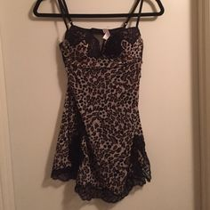 Victoria's Secret Cheetah Print Lingerie NWOT Sexy Victoria's Secret cheetah…