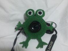Amigurumimos na arte de fotografar.
