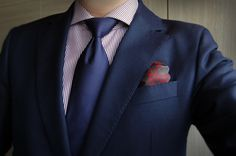 Pierre Cardin blazer + Marsay Custom-Made Shirt + Zegna Silk Tie