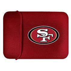 NFL San Francisco 49ers Laptop Sleeve by Team ProMark. $31.14. NFL San Francisco 49ers Laptop Sleeve