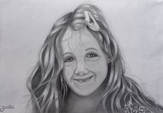 My sisters daughter.. Yep the eyes look a bit weird, anyway I keep on practicing...