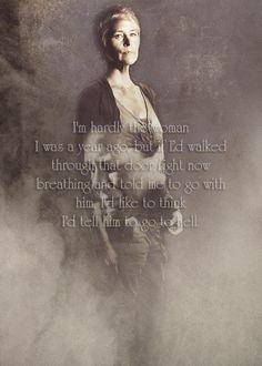 Carol Peletier (Melissa McBride) - The Walking Dead.
