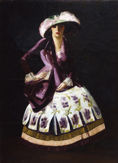 Polish Dancer (c.1927). George Benjamin Luks (American, 1867-1933). Oil on canvas, mounted on masonite. PAFA. Luks is particularly known for his portraits of New York street characters, affectionate renderings of distinct personalities and...