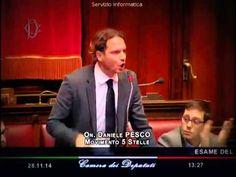 """Daniele Pesco (M5S): """"Derivati? Lo Stato è servo delle banche d'affari"""""""