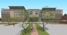 Allied Health & Workforce Building - Student Circle