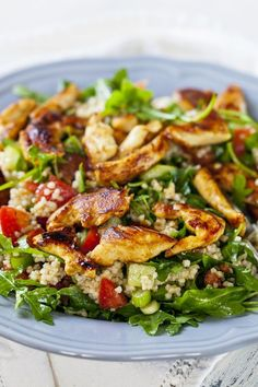 Chicken with Quinoa and Vegetables Recipe