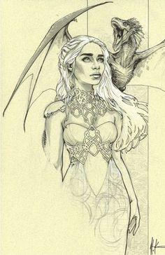 Daenerys Targaryen - Game of Thrones - Alex Konat