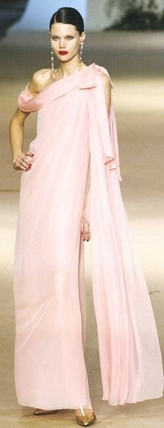 Yves Saint Laurent. Oh to have this dress and somewhere to go to wear it!!!!