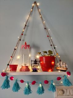 Rental friendly & low budget wall shelf for bedroom,livingroom India Home Decor, Ethnic Home Decor, Cute Room Decor, Diy Wall Decor, Home Decor Furniture, Home Decor Bedroom, Indian Room Decor, Pinterest Room Decor, Diwali Decorations At Home