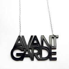 Avant Garde necklace, for the avant garde girl, I like!