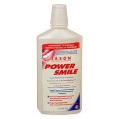 JASON Power Smile Super Refreshing Mouthwash Peppermint - 16 fl oz
