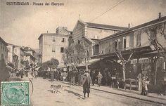 Via Cavour e il mercato che fu... in piazza Sant'Agostino