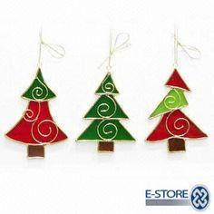 tree ornaments w/wire